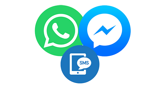 Business Social Media Chat