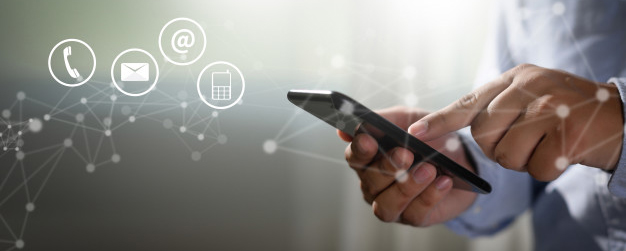 Technology helps businesses communicate